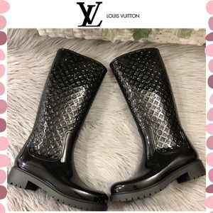 Authentic Louis Vuitton Monogram Tall boots